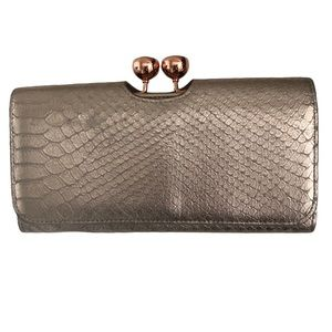 Ted Baker Bobble Matinee Purse Rose Gold Hardware